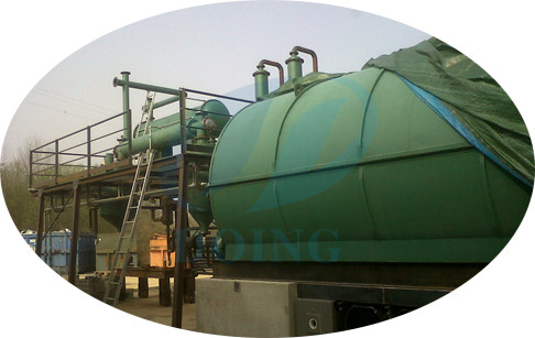 Italy installed waste plastic to oil pyrolysis plant