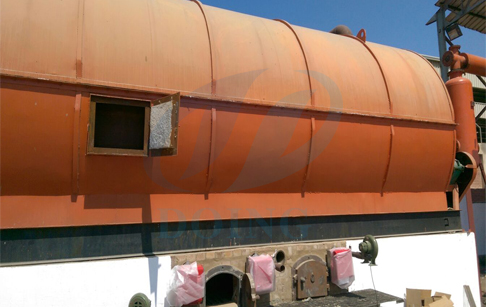 Waste tyre pyrolysis plant in Egypt set up successfully