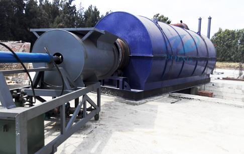Waste Management of Waste plastic to oil machine