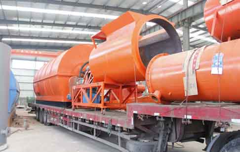 Waste tyre to fuel oil pyrolysis plant will delivered to Mexico