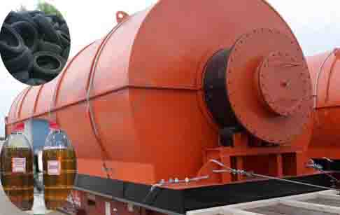 High Profits Waste Tire Recycling Pyrolysis Plant