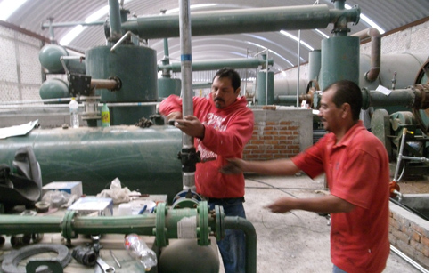 Mexico 6 sets tire disposal and recycling pyrolysis