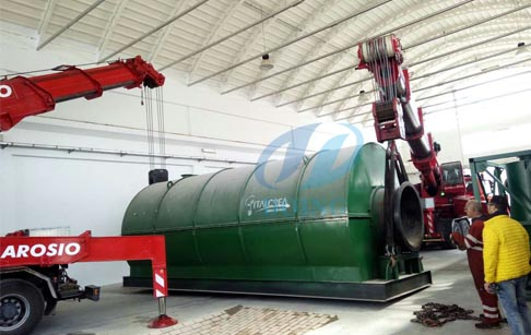 Pyrolysis Recycling machine