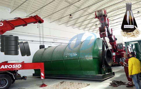 DOING GROUP introduction with its pyrolysis machine