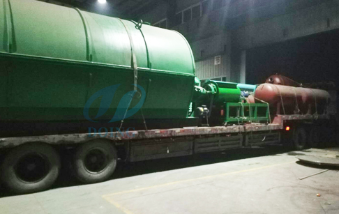 10T plastic recycling process pyrolysis plant for I