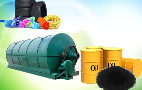 How to get oil from tyres?