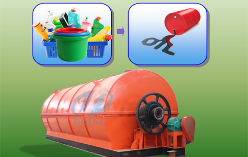 How to recycling plastic to oil ?