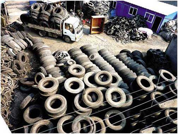 waste tire sold