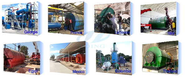 plastic pyrolysis plant project cases