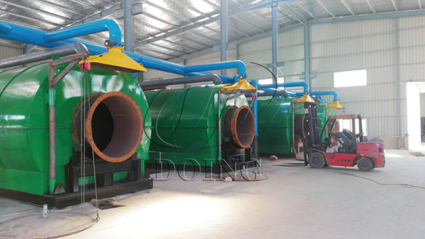 used tyre pyrolysis equipment