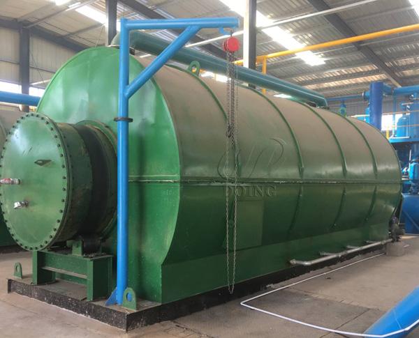 plastic to fuel machine