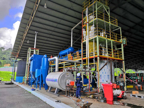 waste oil recycling to diesel