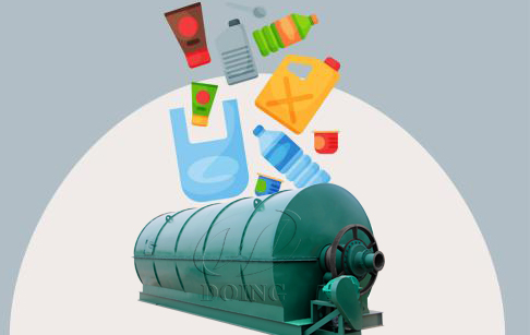 What machine is used to recycle plastic?