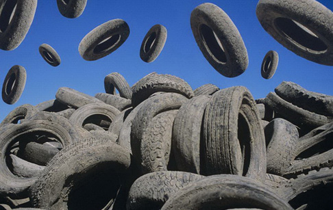 How to recycle waste tyres?