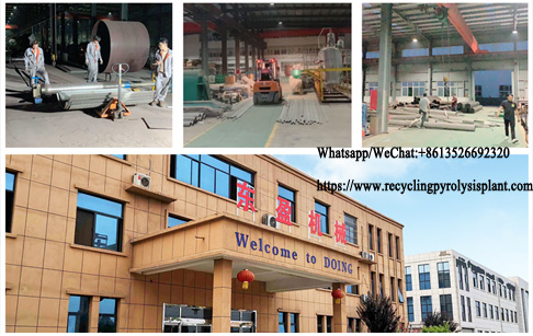 To provide better waste tyre to oil plant, DOING factory renovation