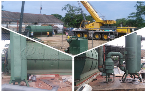 Panama customer expansion tire pyrolysis project completes second installation