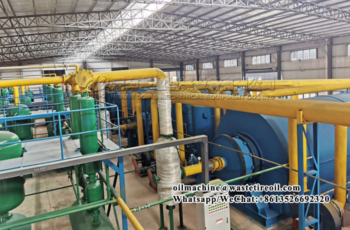 tire to oil recycling machine