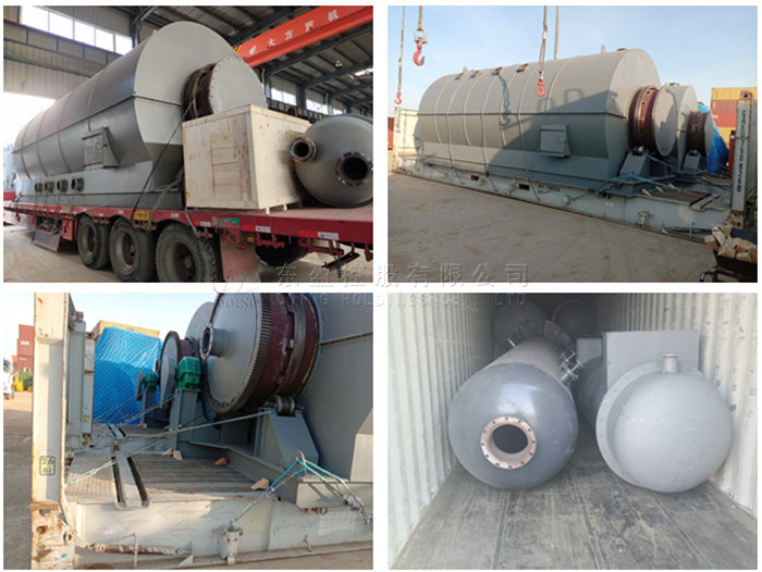 used tyre to oil plant