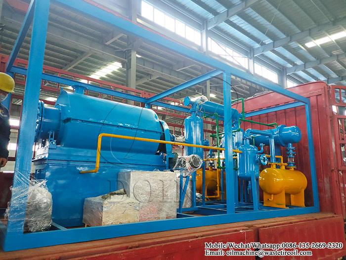 waste plastic pyrolysis plant