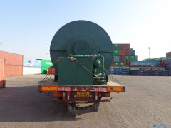 Waste tyre recycling plant is ready to delivery to India