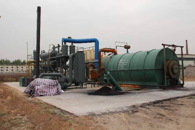 Doing Waste Tyre Recycling Plant Features