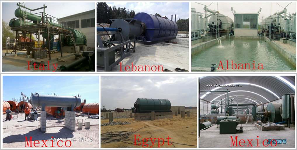 recycling pyrolysis plant problems,recycling machine