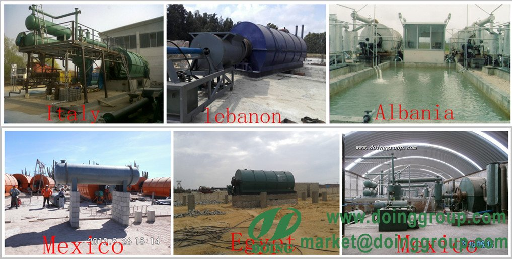 plastic oil manufacturing process pyrolysis plant
