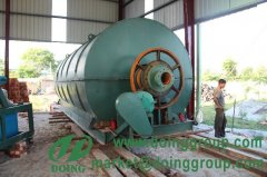 Waste tyre recycling equipment