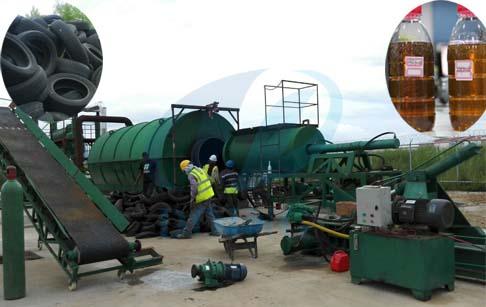 tyre oil machine