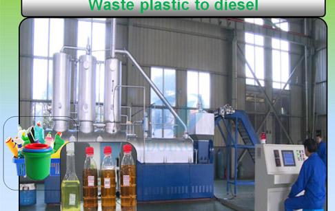 plastic into diesel