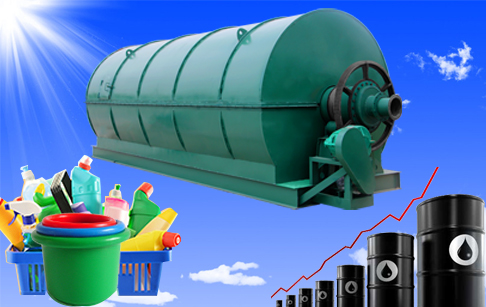 Green tech waste plastic pyrolysis plant to get fuel oil