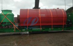 Egypt customer bought waste tyre pyrolysis plant will be delivery