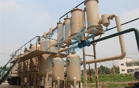 pyrolysis oil to diesel